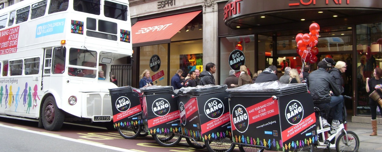 Espirit Rickshaws and Espirit Bus
