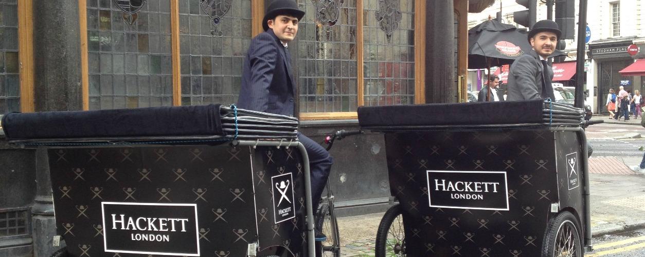 Hackett Bicycle Rickshaws