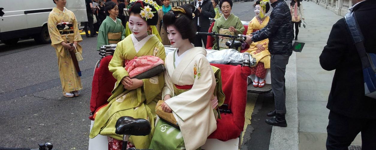 Promote Japan Campaign Rickshaw Hire