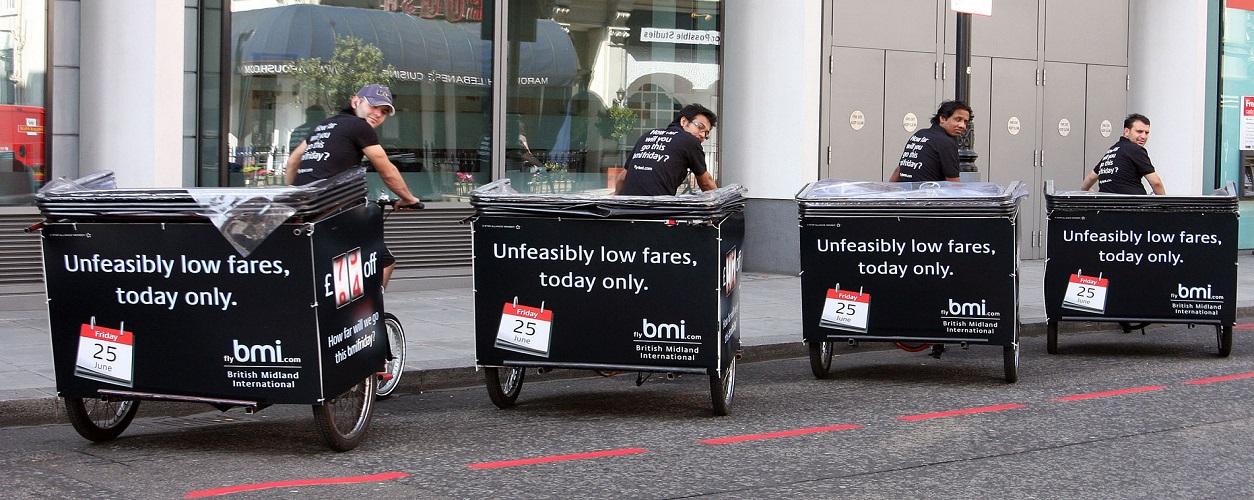 London Rickshaws Branded bmi