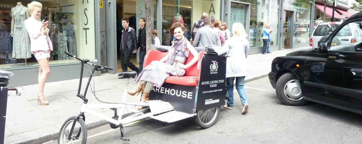 Warehouse Rickshaws in Action